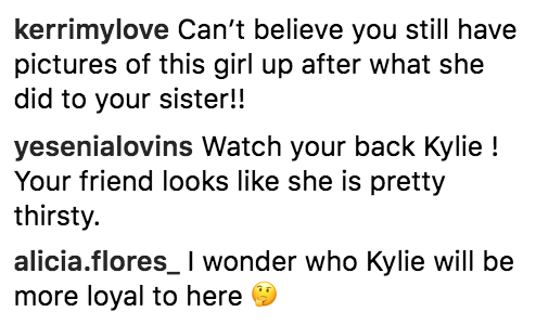 People Are Attacking Kylie Jenner For Staying Friends With