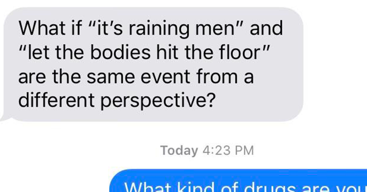 Text messages to send silly 29+ Funny