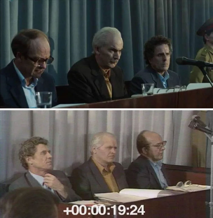 12 Pictures Of Chernobyl Actors Vs The Real Life People