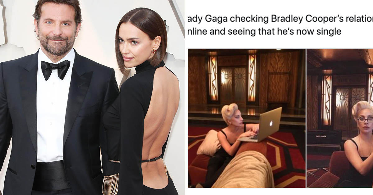 Bradley Cooper Splits With Irina Shayk Bringing The Lady GaGa