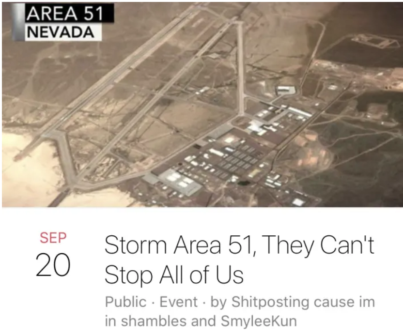 area 51 flash mob