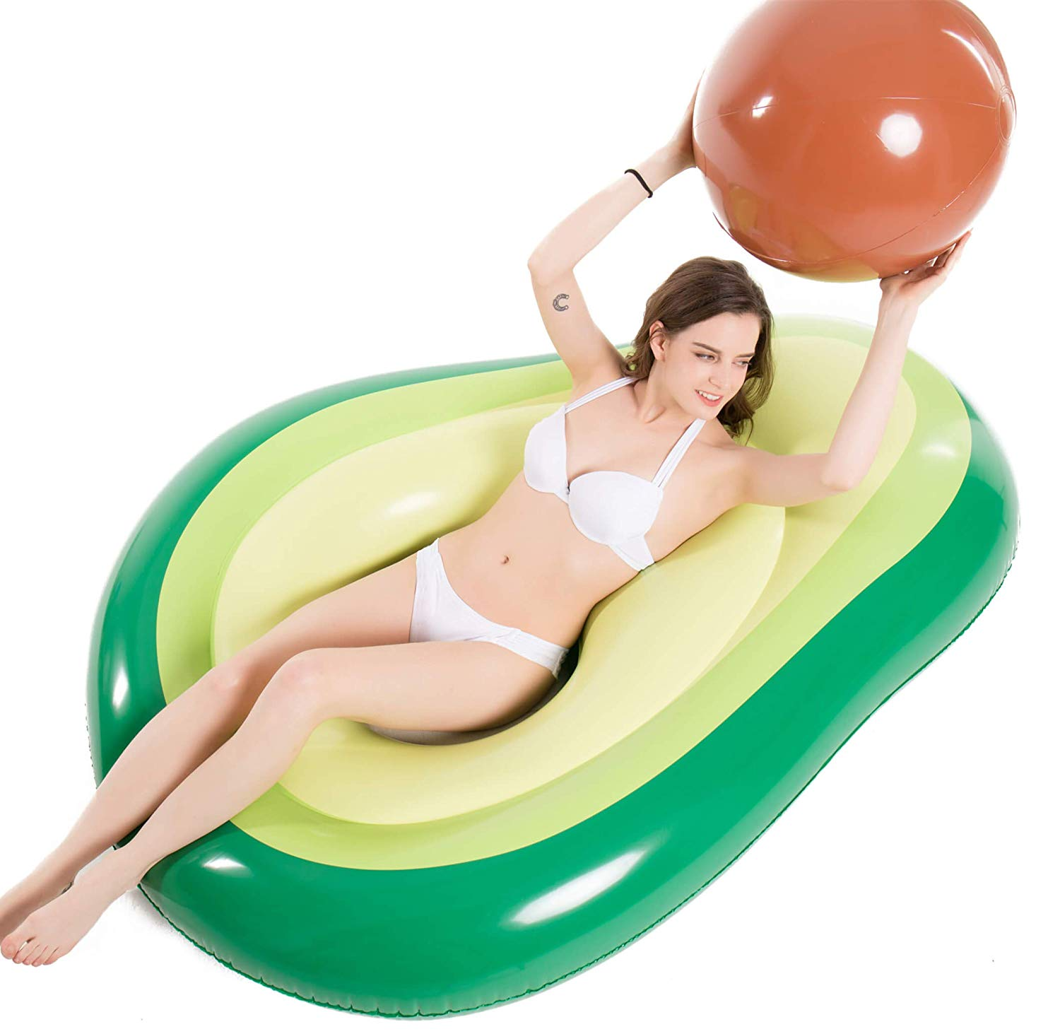 avocado pool floatie