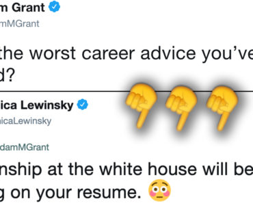 bad career advice