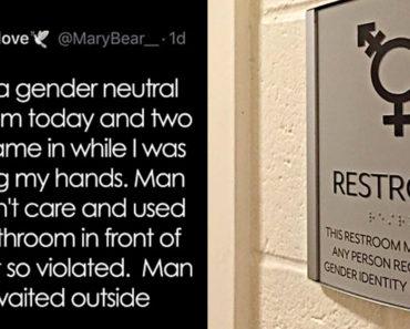 gender neutral bathroom tweet