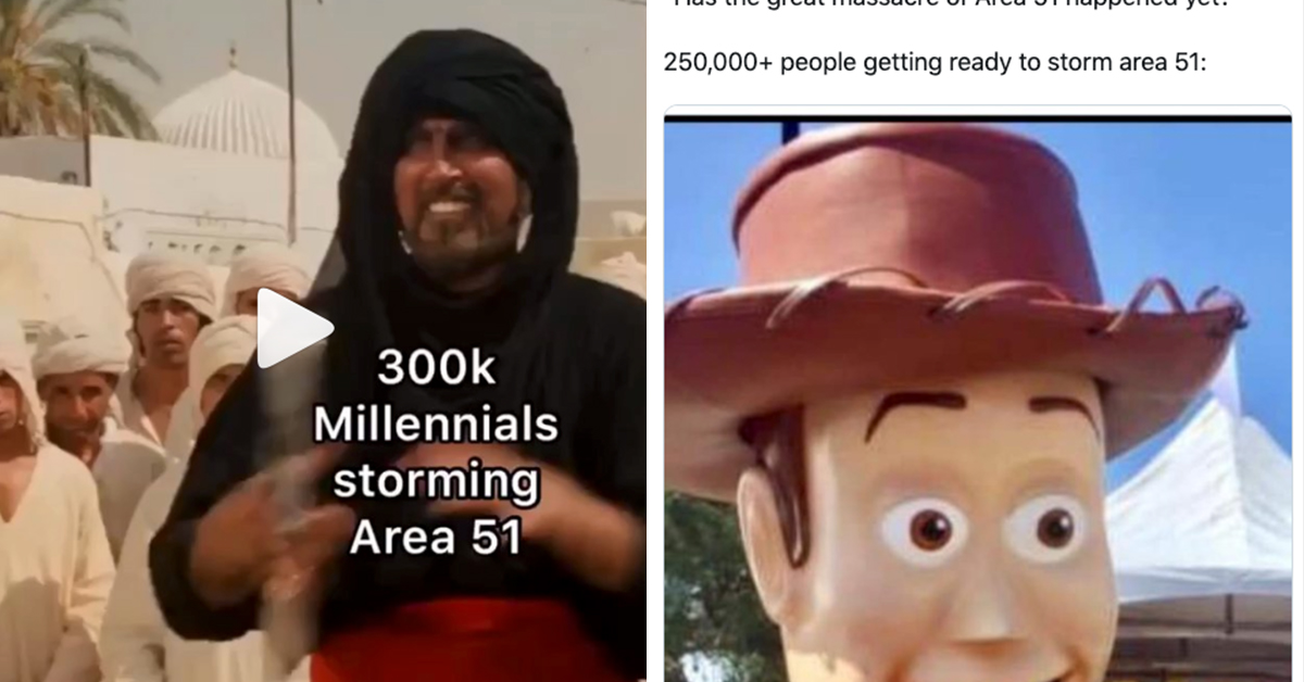 25 Best Memes About Peco: Just 25 Of The Funniest 'Storm Area 51' Memes