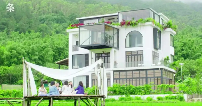 seven best friends buy a mansion in china