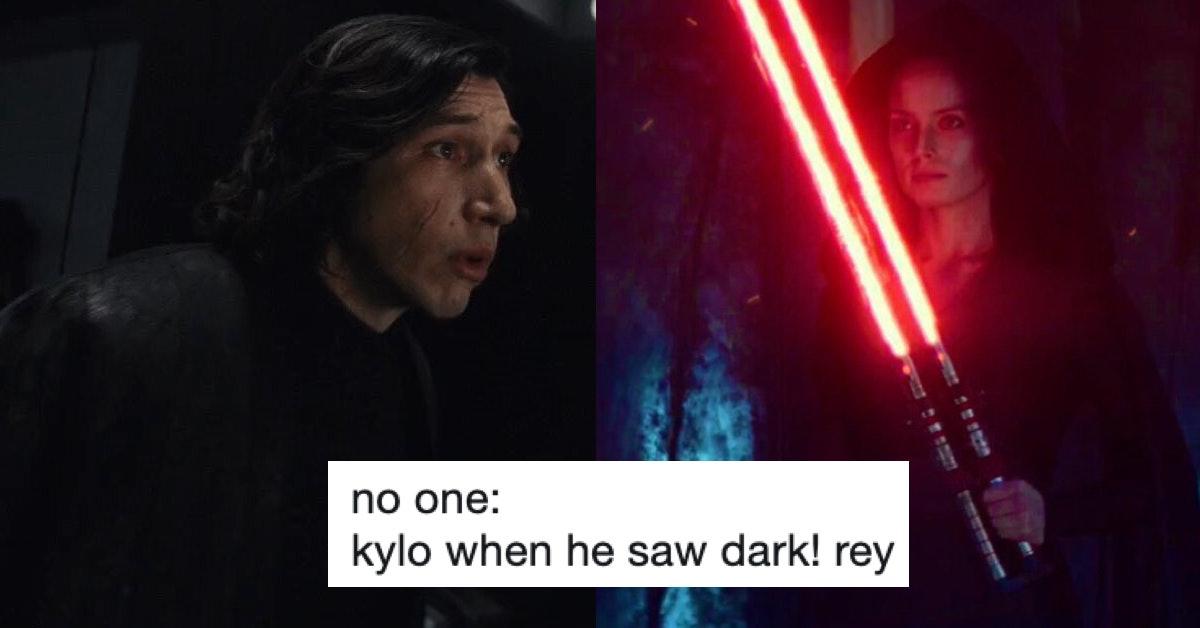 Star Wars Rise Of Skywalker Trailer Has Dark Rey Jokes Pouring In