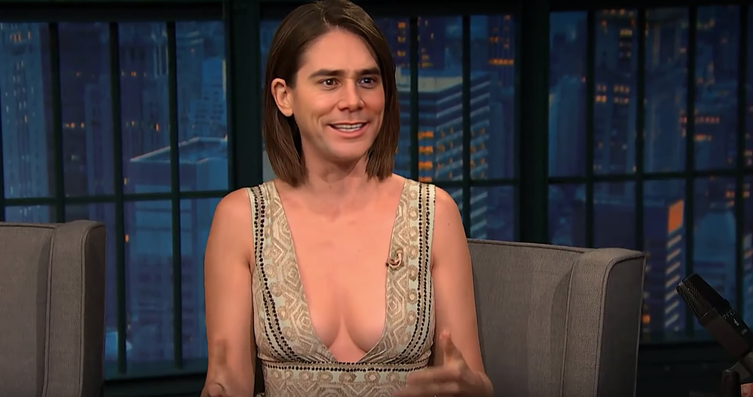 Allison Video Hot this deepfake video of alison brie with jim carrey's face is