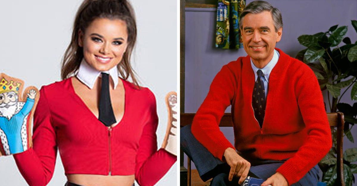 Here S The Sexy Mr Rogers Costume Literally No One Asked For