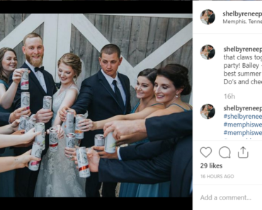 white claw, wedding, instagram