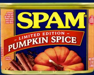 pumpkin spice spam