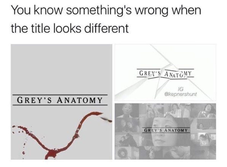 diagram of grey\'s anatomy 31  grey s anatomy  memes   tweets in honor of season 16  31  grey s anatomy  memes   tweets in