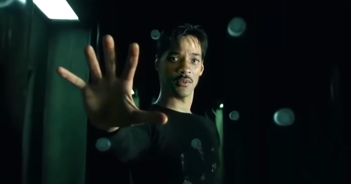 will smith as keanu reeves in the matrix