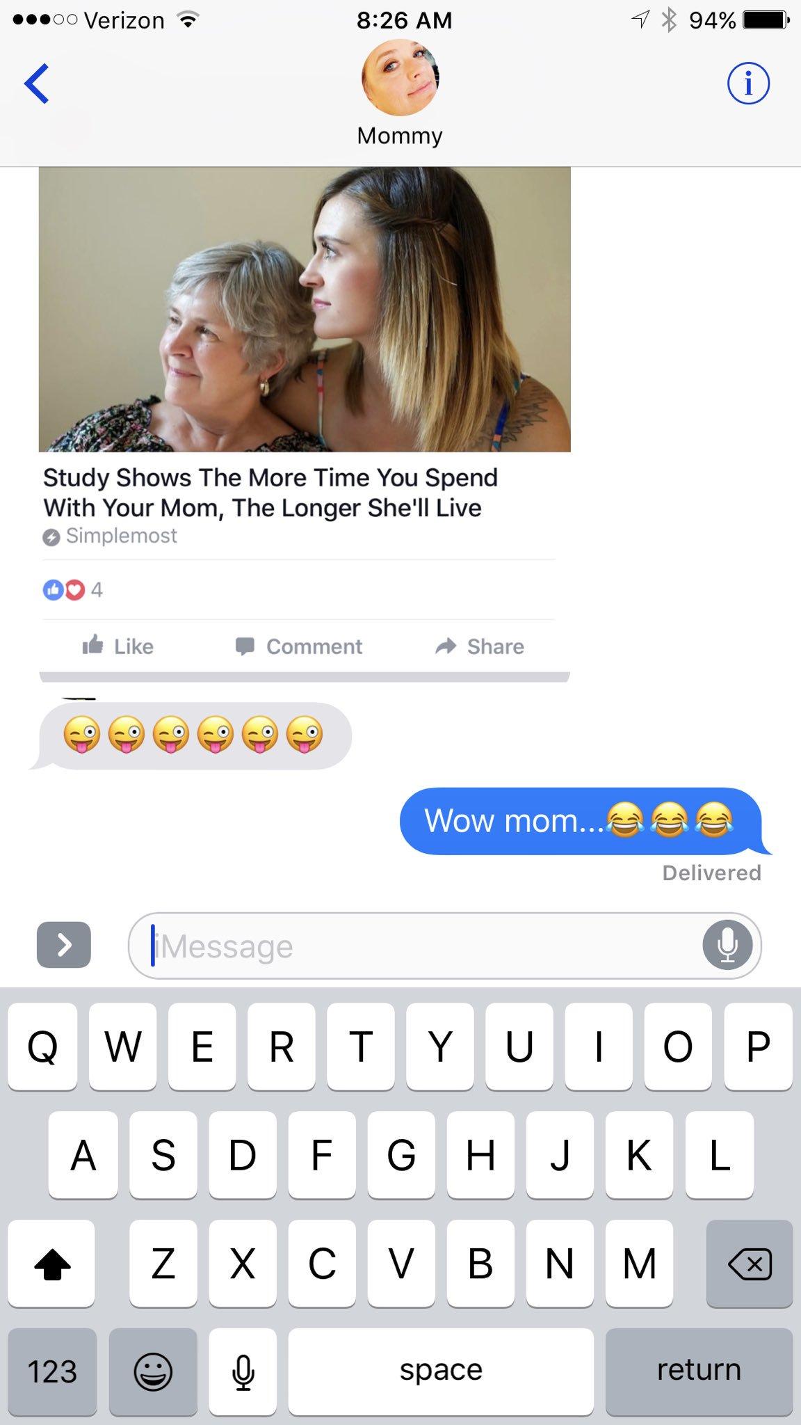 zendaya celeb parent texts