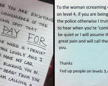 passive aggressive notes from neighbors