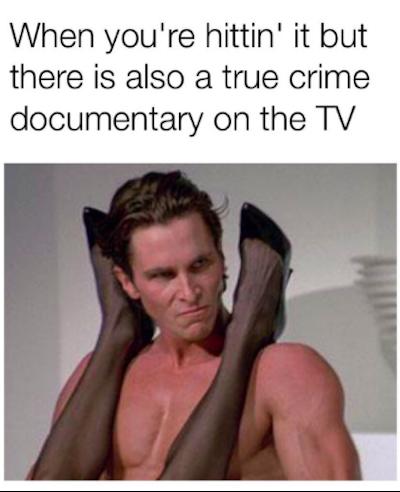 funny true crime memes