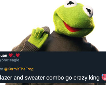 kermit the frog work outfit