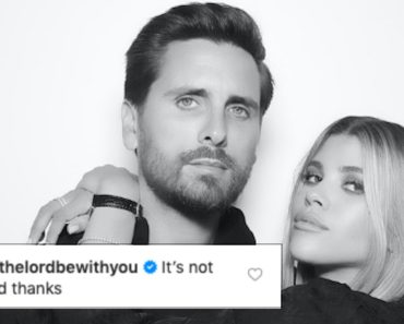 Scott Disick Comments On Sofia Ritchie's Topless Instagram Thirst Trap