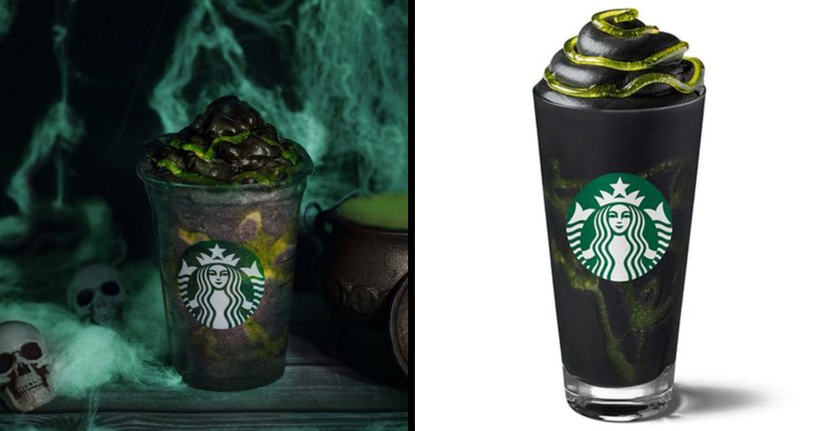 Starbucks Phantom Frappuccino Is The Pefect Spooky Halloween Drink
