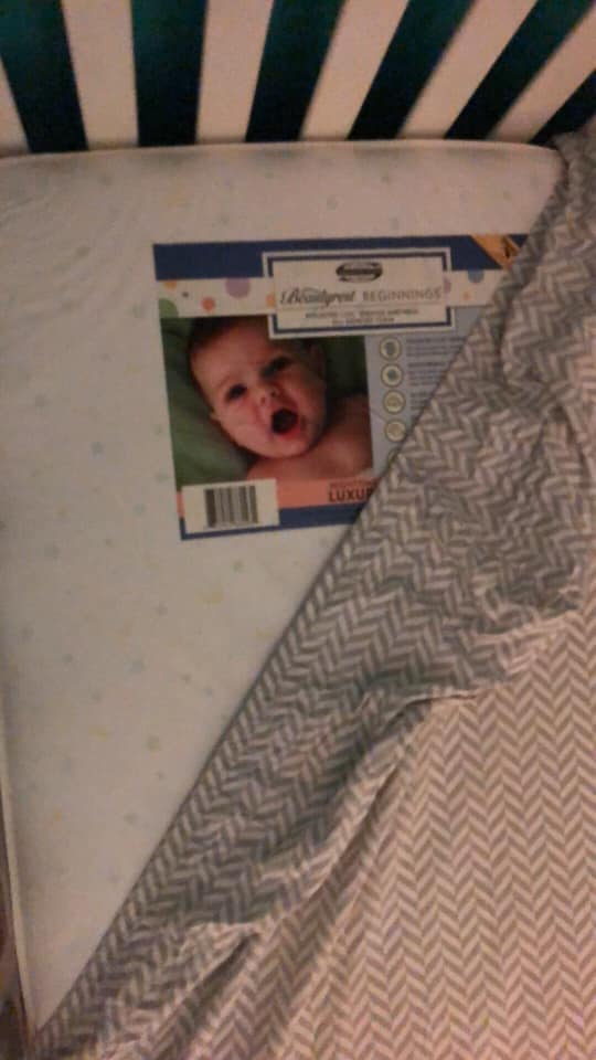 Mom S Photo Of A Ghost Baby In Her Son S Crib Will Give