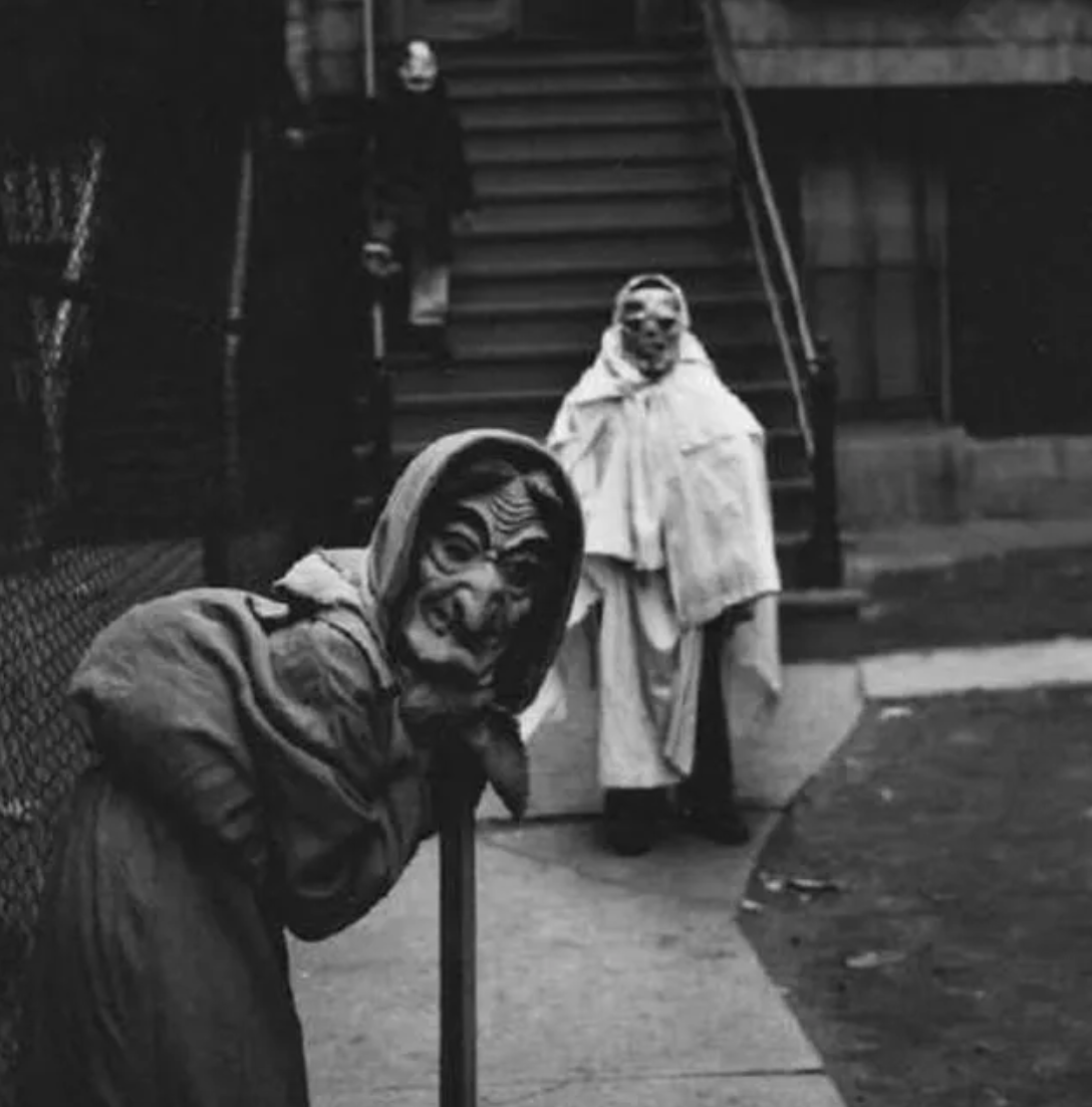 creepy vintage grandma halloween costume, terrifying vintage grandma costume, two terrifying vintage halloween costumes