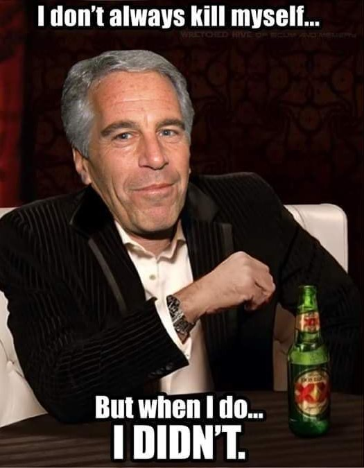 jeffrey epstein memes, jeffery epstein meme, jeffery epstein didn't kill himself, epstein suicide memes, jeffery epstein sex trafficking case, clintons killed jeffery epstein, hillary clinton jeffery epstein meme, bill clinton jeffery epstein meme