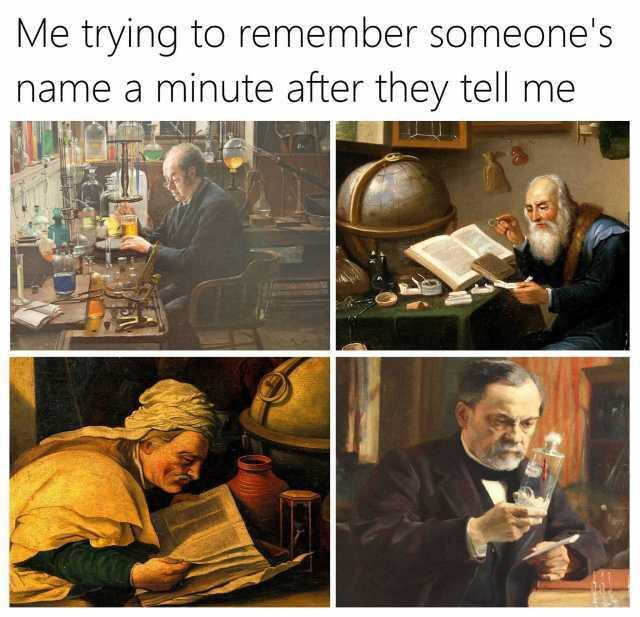 Bad memory memes, can't remember name meme, can't remember name memes, bad memory memes, awkward memes