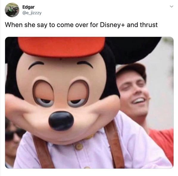 disney plus and thrust