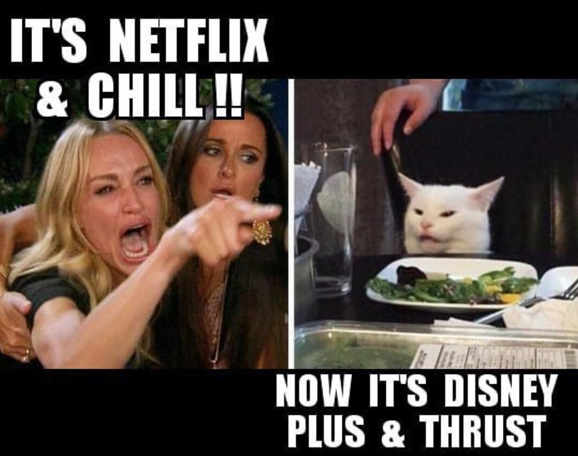 netflix chill meme
