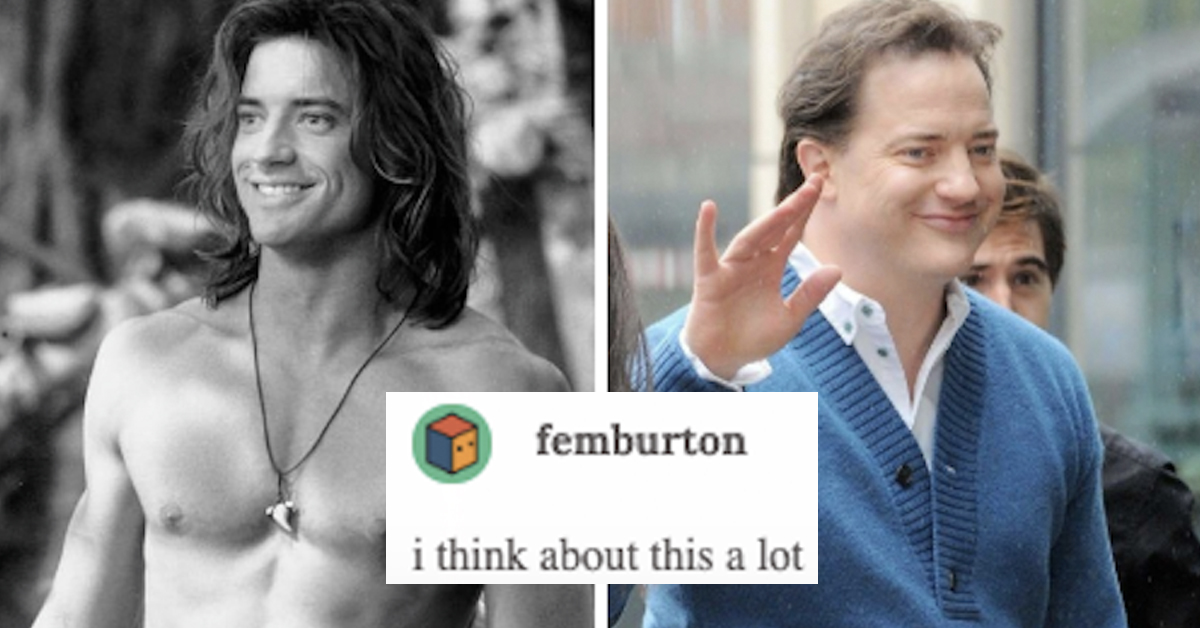 Someone Tried to Criticize Brendan Fraser For Aging And ...