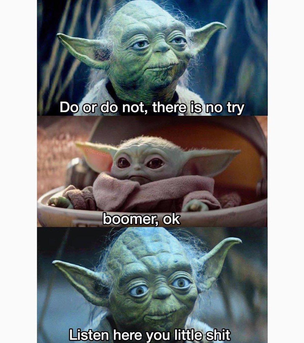 ok boomer baby yoda meme