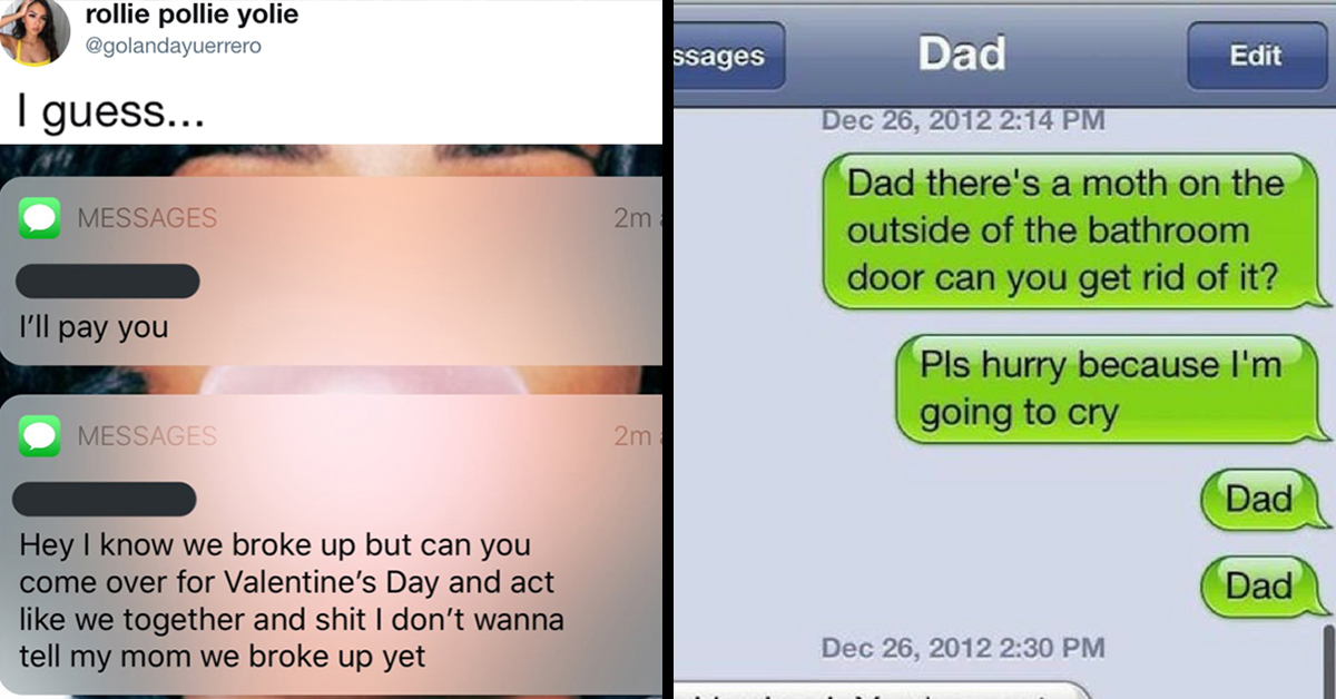 funniest texts 2010s