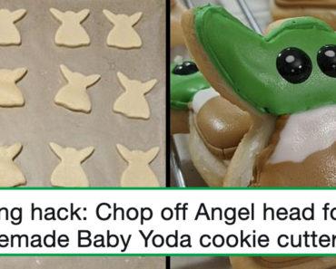 baby yoda cookies, baby yoda cookies hack, baby yoda cookie hack