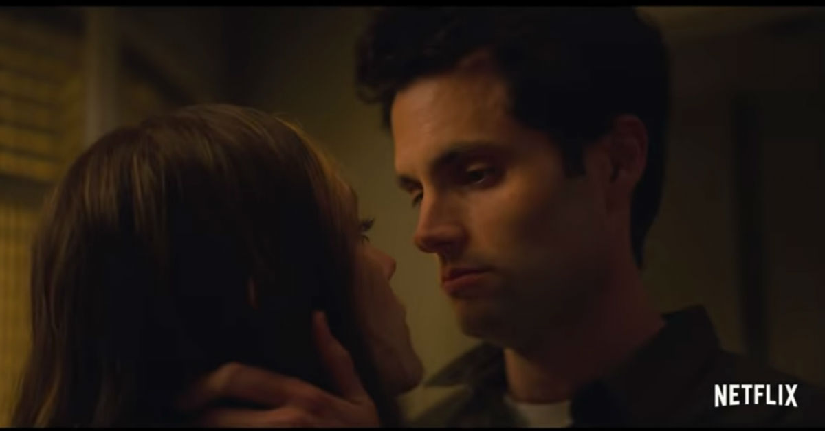 """Still from the second trailer of season two of """"You"""""""
