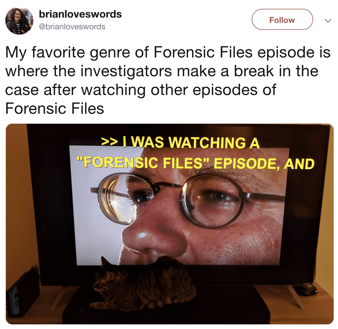 22 Forensic Files Tweets To Tide You Over Until The New Episodes Drop