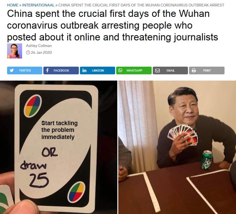 Coronavirus China Memes 2020