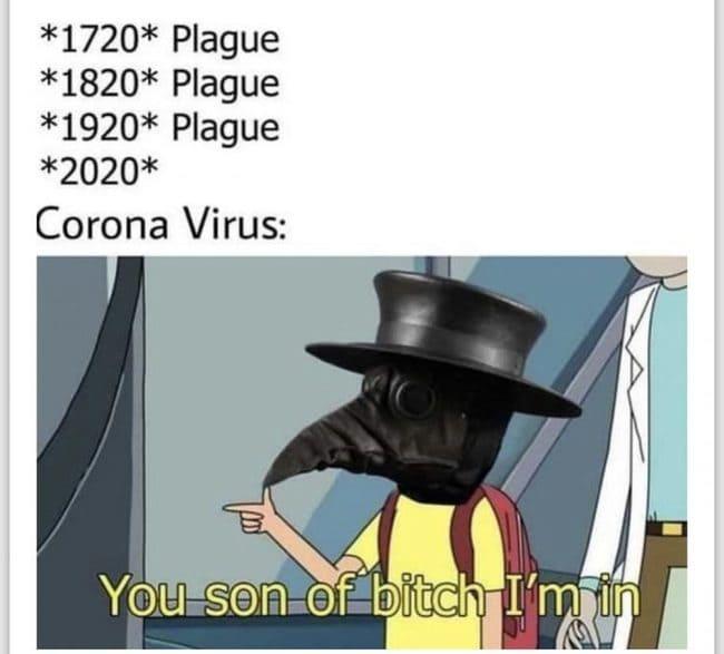 Coronavirus Memes Are Spreading Like, Well, Coronavirus