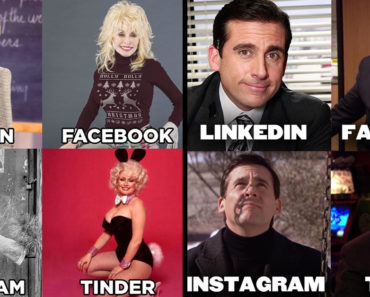 "dolly parton meme, ""LinkedIn, Facebook, Instagram, Tinder"" Meme, ""LinkedIn, Facebook, Instagram, Tinder"" Memes, dolly parton challenge memes"