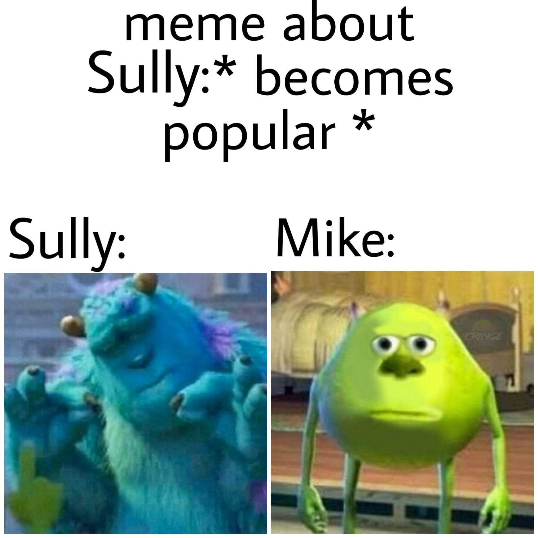 sully pinch meme, sully finger pinch, sully finger pinch meme