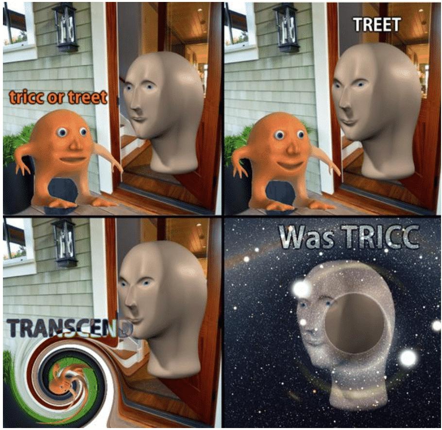 meme man vegetal, meme man, surreal meme man, meme man chef