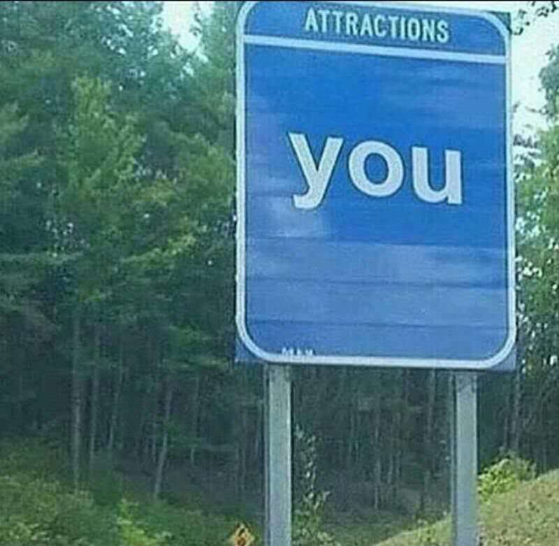 attractions love meme, attractions you love meme, road sign attractions love meme, road sign attractions you love meme