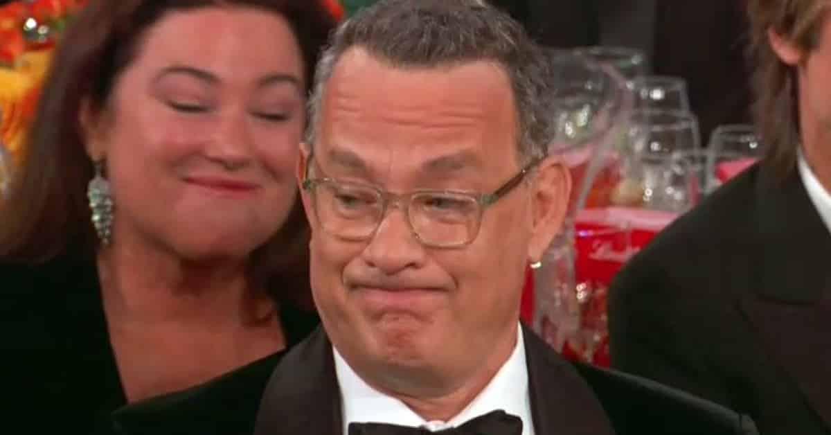 tom hanks meme, golden globes tom hanks, tom hanks face golden globes, tom hanks meme 2020, tom hanks face meme