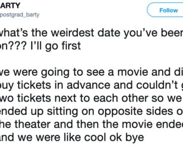 weird date, weird dates, weirdest date, weirdest date ever