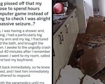 aita boyfriend playing video games while girlfriend has seizure