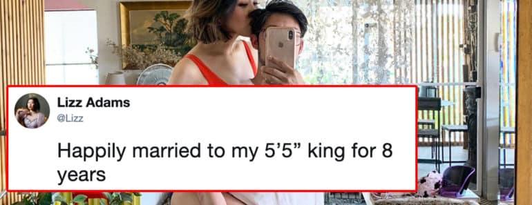 short king, short kings, tall woman dating short man