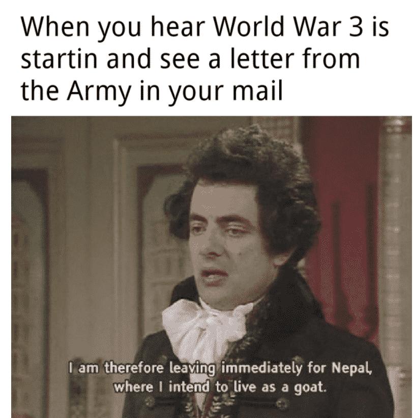 ww3 memes, ww3 meme, ww3 memes twitter, ww3 memes 2020, ww3 memes reddit, world war 3 memes