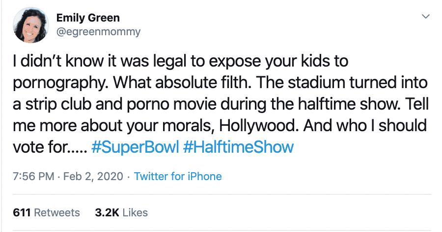 emily green halftime show super bowl