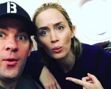 "Emily Blunt Shares Her ""Sneak-Attack"" Method To Moving In With Husband John Krasinski"