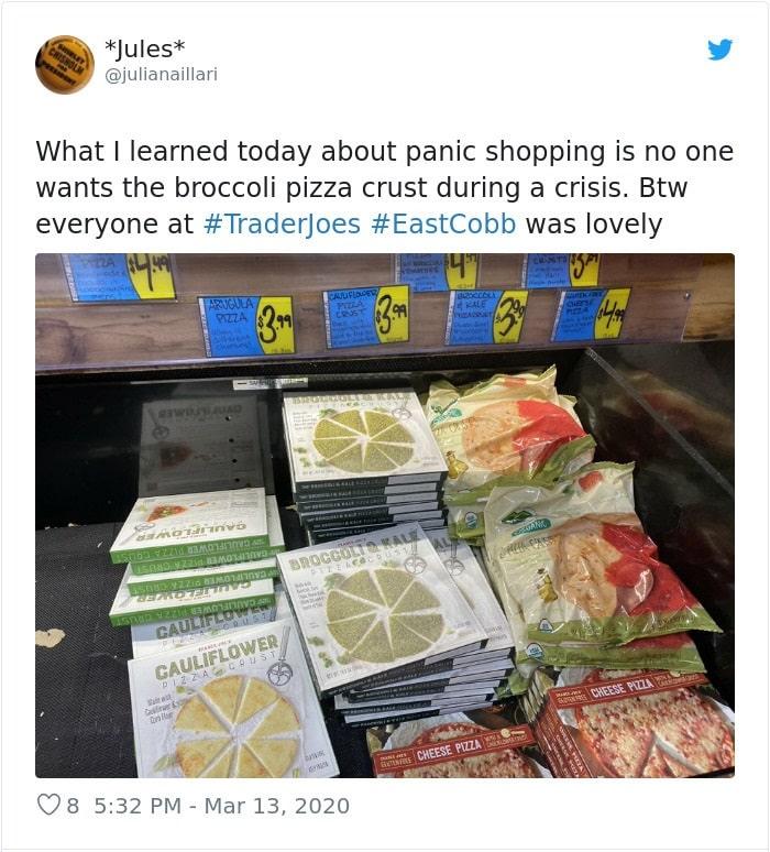 coronavirus panic, coronavirus panic buying, coronavirus panic shopping