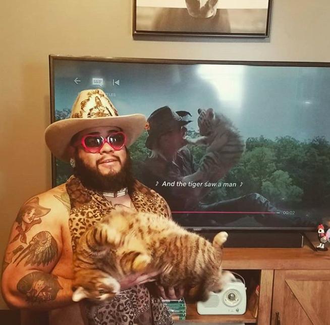 tiger king challenge